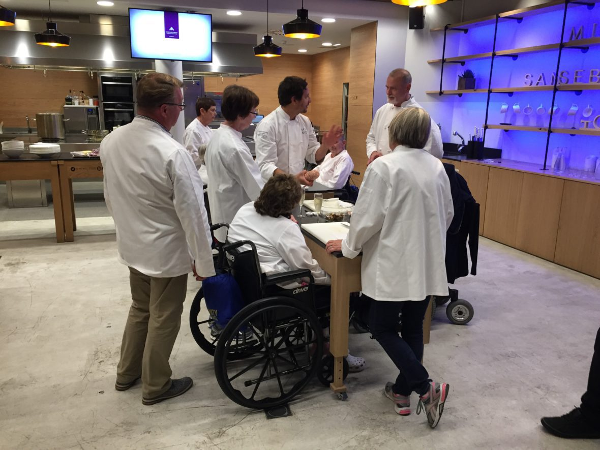 Accessible cooking class