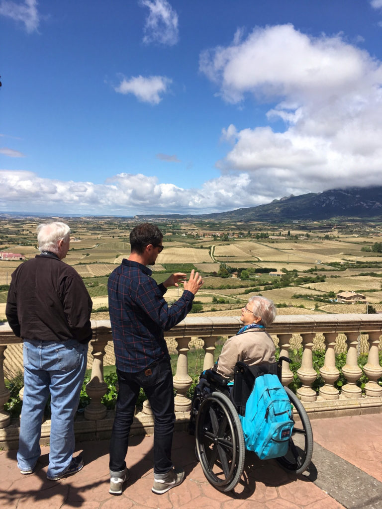 Accessible la rioja wine tour views